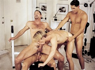 Gage Michaels, Jeremy Steel, Blake Harper & Alec Martinez Fuck