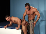 Gay Videos XXX : UNIFORM lad - Nate Karlton -amp; Marc Dylan!