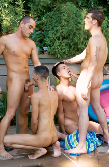 Danny Taggart, Chase Evans, Mario Costa, Sean Preston, Enrique Currero Picture