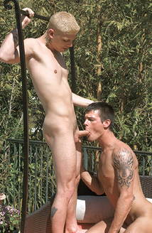Justin Cox, Brayden Jaymes Picture