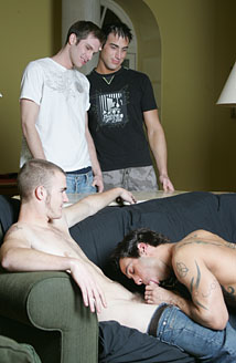 Shane, Alexy, Spencer & Christian