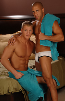 Austin Wilde, Gavin Waters Picture