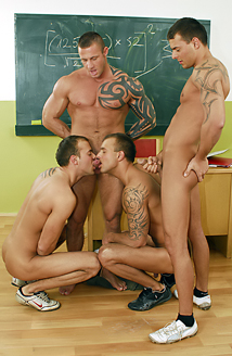 School Foursome Picture